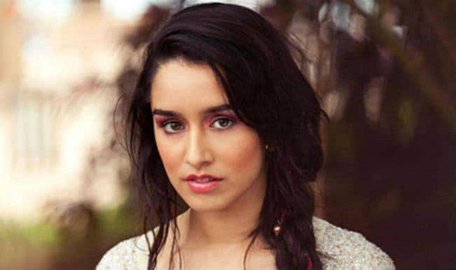 Why is Shraddha Kapoor nervous?