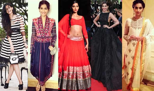 f817d131d68920 Sonam Kapoor's style diary: Check out the top 5 trendy looks of the  birthday girl