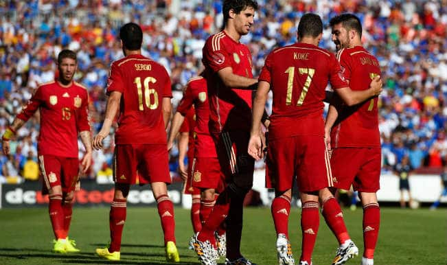 654bc25fe24 Spain vs Chile: Watch Sony Six TV for Free Live Streaming & Telecast of  FIFA World Cup 2014 19th Match