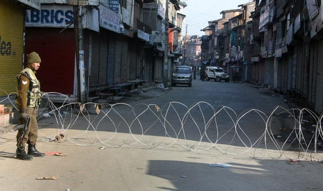 Curfew in Sopore, separatist shutdown in Srinagar