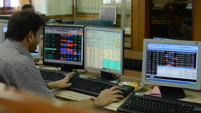 Sensex dips below 25,000 level in afternoon trade