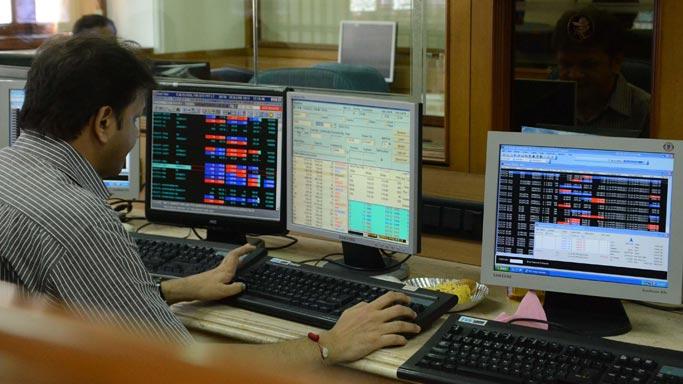 Sensex dips below 25,000 level in afternoon trade