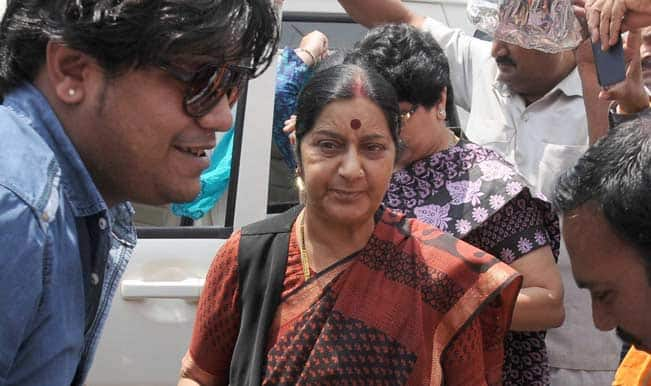 Sushma Swaraj calls for support for women's reservation bill