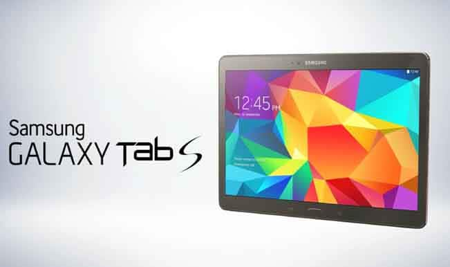 Watch Live Streaming of Samsung Galaxy Tab S launch event