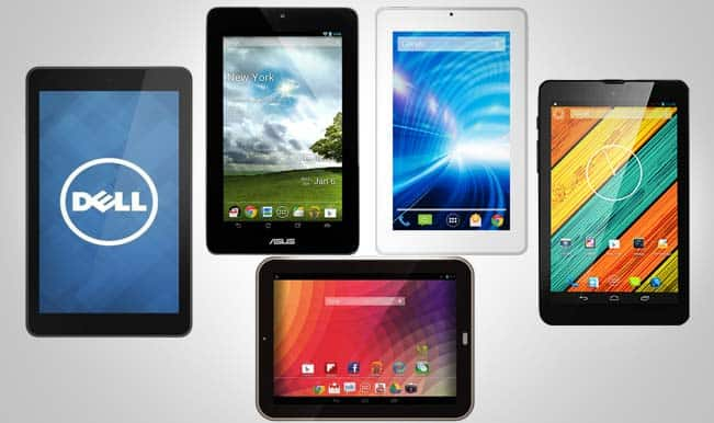 Top 5 tablets in the range of Rs 10,000