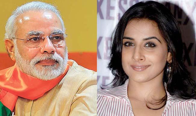 Is Vidya Balan copying Narendra Modi?