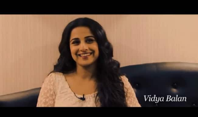 Vidya Balan: It was difficult to say no to Sujoy Ghosh
