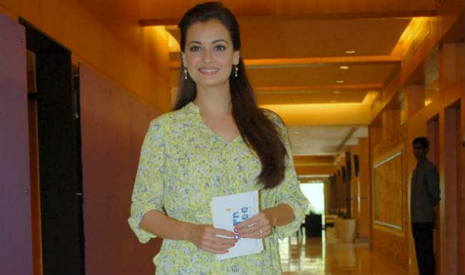 Won't need to play detective: Dia Mirza to media on wedding plans