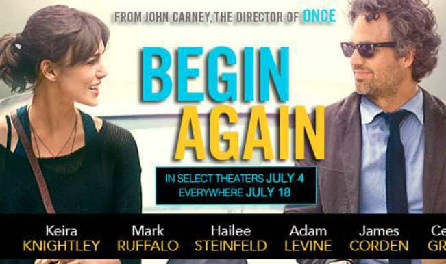 Movie Review: 'Begin Again' – trending on unconventional choices