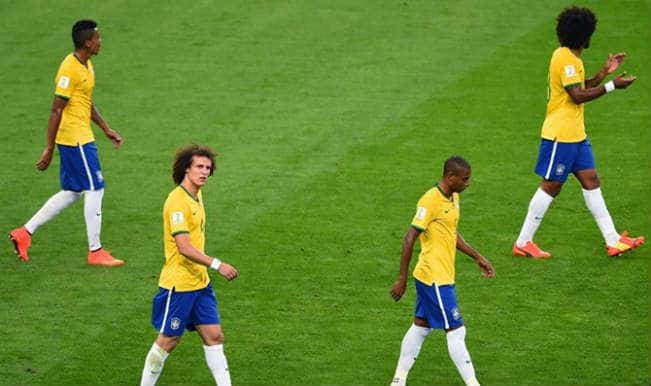 Brazilians cry and curse at World Cup humiliation