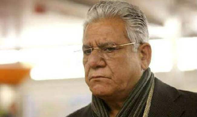 Om Puri undergoes mouth surgery, quits smoking