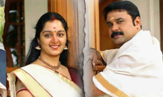 Kerala stars Dileep, Manju Warrier jointly file divorce plea