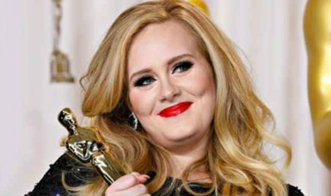 Adele undergoing photo-healing therapy