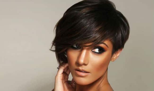 Frankie Sandford ties the knot