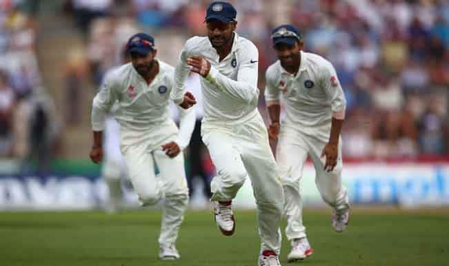India 25/1 at stumps after England declared the innings at 569/7