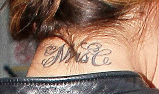 Cheryl Cole to get 'Mrs C' tattoo removed