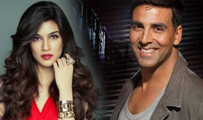 Is 'Heropanti' babe Kriti Sanon learning salsa for Akshay Kumar?