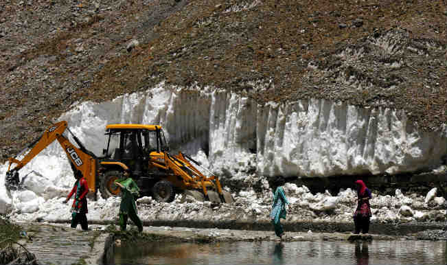 Amarnath Yatra suspended from Baltal route