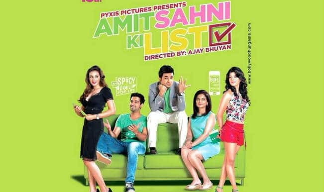 Movie review: Amit Sahni Ki List an endearing 'rom' com