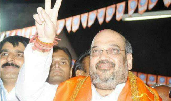 BJP President Amit Shah asks MPs to remain connected with the common people