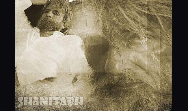 Amitabh Bachchan shares his rugged 'Shamitabh' look on Twitter