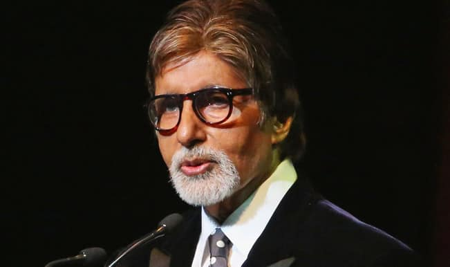 Shooting for Balki's film to end soon: Big B
