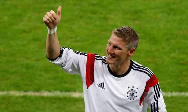 Germany under 'no pressure', says Bastian Schweinsteiger