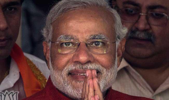 Prime Minister Narendra Modi arrives on day's visit to Jammu and Kashmir
