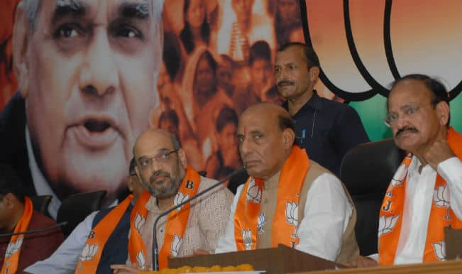 Amit Shah becomes new Bharatiya Janata Party chief