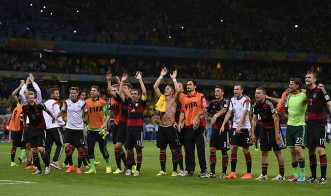 Germans on cloud nine even before World Cup final