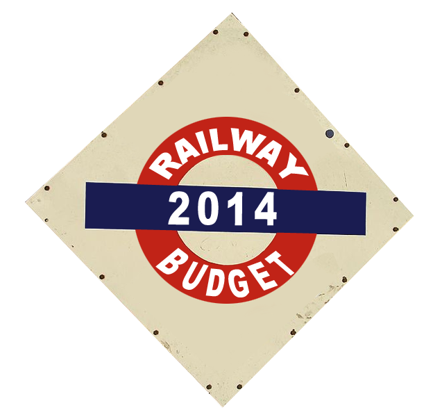 Railway linked firms' stocks rise ahead of budget