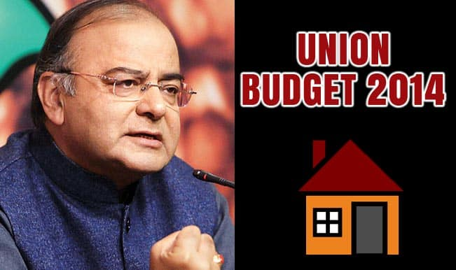 Union Budget 2014 Live: Arun Jaitley to bring good news for home loan borrowers?