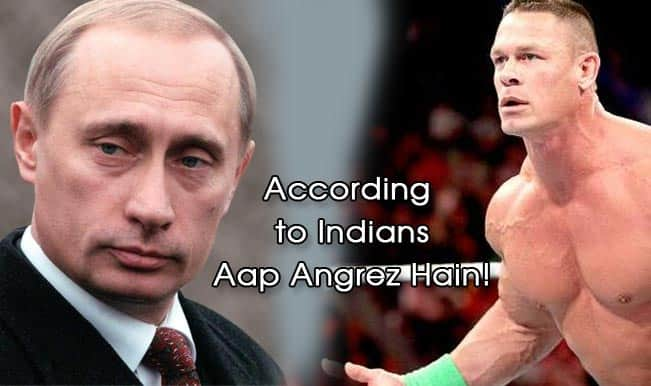 Steven Gerrard, Vladimir Putin or John Cena: Well, according to Indians – You're Angrez!