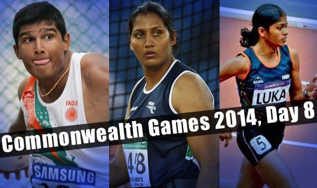 Commonwealth-Games-2014,-Day-8