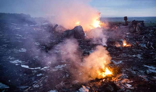 Ukraine believes missile downed Malaysia Airlines jet
