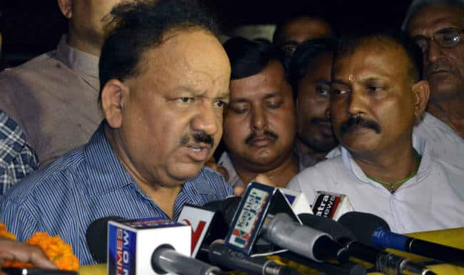 Satisfied at polio-free India, but can't be complacent: Harsh Vardhan