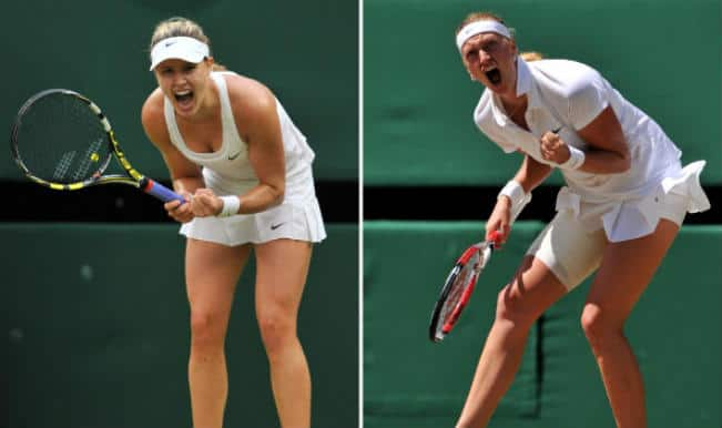 Eugenie Bouchard vs Petra Kvitova