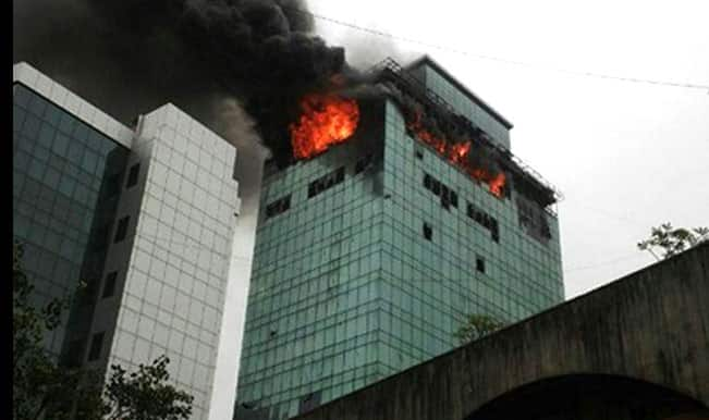 Mumbai fire: Fireman killed in Mumbai high rise blaze