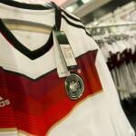 Germany fans snap up two million shirts; Adidas stores sold out
