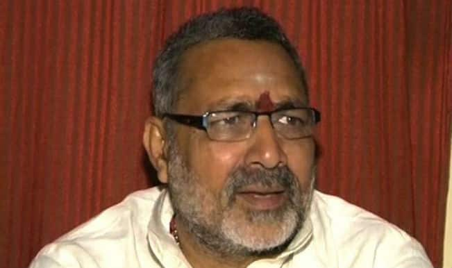 Bharatiya Janata Party MP Giriraj Singh tells police recovered money was of his cousin