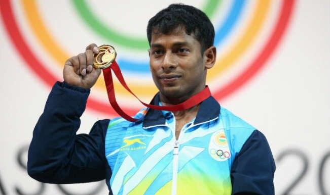 Gold medalist Sukhen Dey