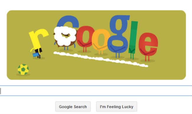 Google Doodle for Brazil vs Germany gives a funny take on the 'vanishing spray'