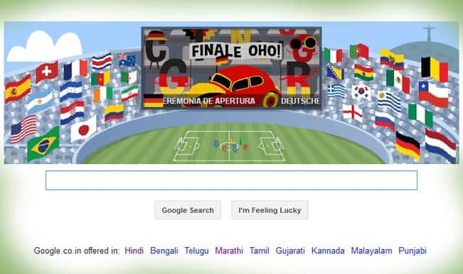 Google doodles 'The Best for Last', depicts eccentric Germany vs Argentina final celebrations