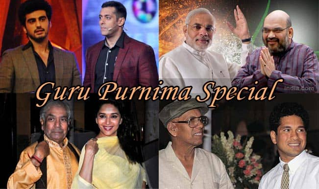 Guru Purnima Special: 7 Indian guru-shishya pairs who set an impeccable class of their own!