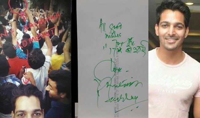 Harshvardhan Rane's auspicious moment with superstar Amitabh Bachchan