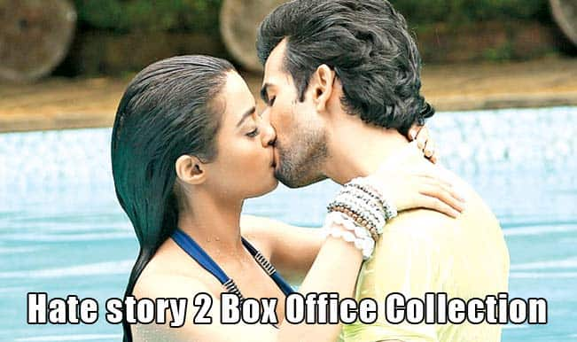 Hate Story 2: First weekend collection at the Box Office