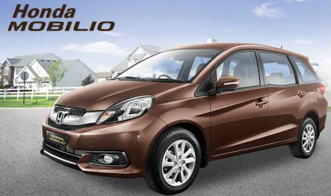 Honda mobilio india launch watch live streaming of 7 for Honda 7 passenger