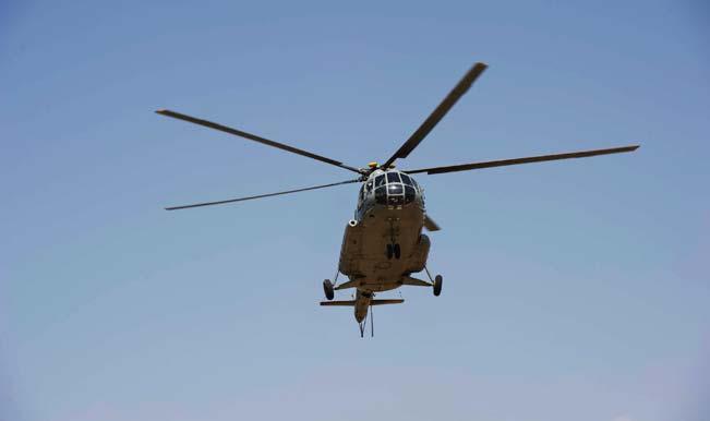 IAF chopper crashes in Uttar Pradesh