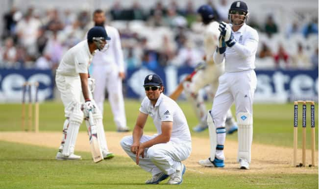 India vs England 2014, Live Cricket Score: England 219/6 after 86 overs