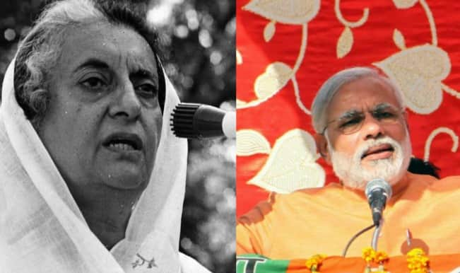 Goa Congress MLA likens Narendra Modi to Indira Gandhi